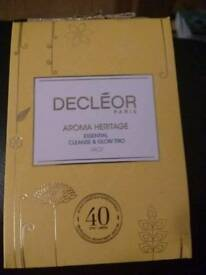 Decleor essential cleanse & glow trio. Brand new