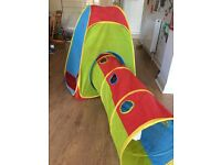 Pop 'n fun tent and tube, excellent condition