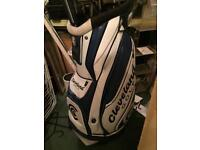 Cleveland Golf Leather Cart Bag