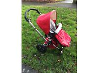 Bugaboo Frog Pram/Pushchair with accessories