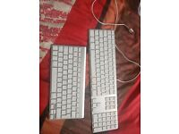 Not working 2x keyboards Apple Mac
