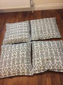 4 Ikea cushions