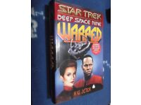 Star Trek Deep Space Nine hardback novel - Warped - As New condition