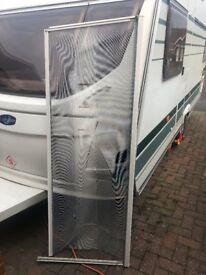 Caravan door fly screen (Swift Challenger and loads more)
