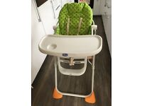Chicco Pocket Lunch Green Highchair