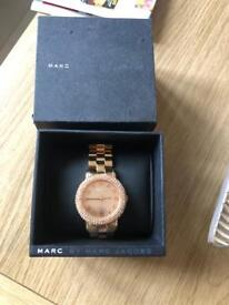 Marc Jacobs limited edition rose gold watch