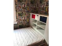 Single bed with chest of drawers