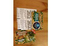 Chessington tickets x4 (21/5 Monday)