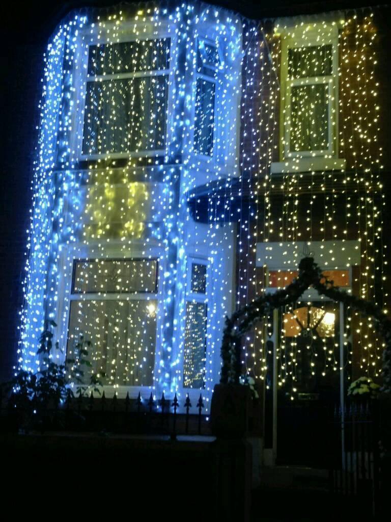 Curtain christmas lights - Outdoor Led Connectable Curtain Lights Christmas Lights Wedding Lights