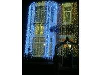 Outdoor led connectable curtain lights, christmas lights, wedding lights