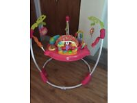 Baby girls fisher price jumperoo vgc