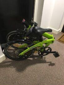 Folding Bike Mini Cooper Green &Black