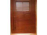 Wooden window Venetian blinds