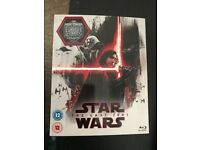 Star Wars last Jedi limited edition sleeve sealed