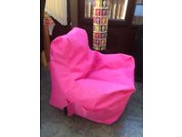 Teenager Beanbag - Pink (Argos Item 532/7881)