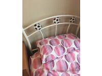 Single bed, 3 drawer chest and bedside unit