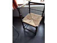 ntique corner chair 100 years old