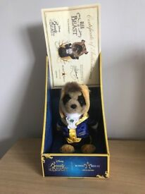 Limited addition Meercat toy as Disney the beast collec