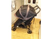 City mini Jogger double pushchair buggy limited edition metro