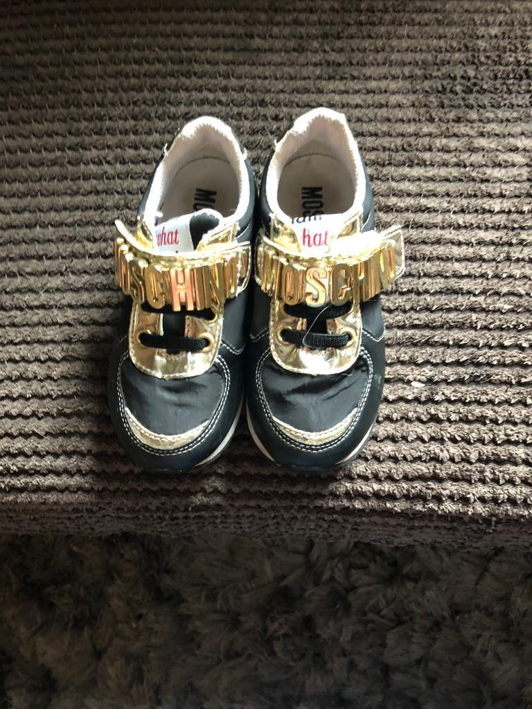 bc723eea Moschino girls trainer size 8 | in Rochdale, Manchester | Gumtree