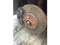 Ford mondeo mk3 tdci front brake performace disks and pads good condition