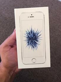 iPhone SE 16gb Silver Brand New Sealed Box