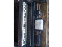 ITS STILL HEAR UNTIL I REMOVE ADD Pianola antiqe rare needs restoring from brookylin New York.