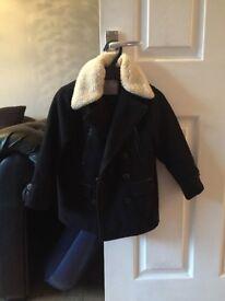 Gorgeous boys coat from zara aged 5