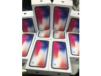 APPLE 💥X 256GB UNLOCKED SEALED BOXED OPEN ON ALL NETWORKS AND APPLE WARRANTY