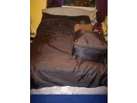 great small double bed by silentnight with storage