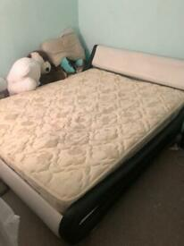 Slay bed with mattress