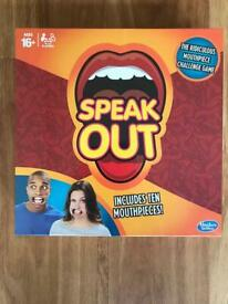 Speak Out game - brand new in packaging - Ipswich - £10
