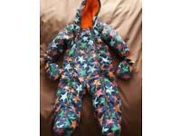 Snow suit 9-12 months. M&S