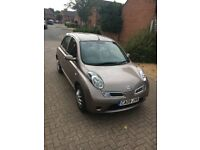2009 Nissan Micra Acenta 1.2 16v Automatic 5dr, Only 44,000 miles with FSH