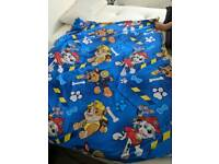 Paw Patrol and Toy Story Toddler Bed Sets