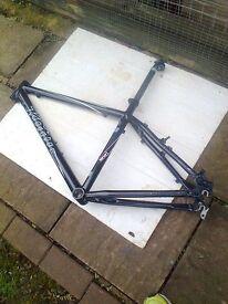 bike frame KONA! -- + bike parts for sale ! all nice!