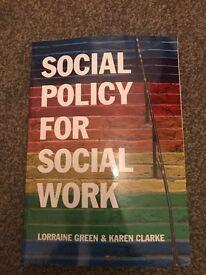 Social Policy Book