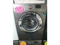 8kg load silver Samsung 1400 spin washing machine