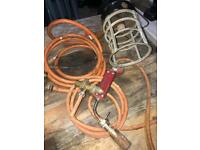 Gas burner and gas torch