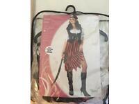 Women's Pirate Halloween costume size XS