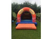 Commercial Bouncy Castle - 15x12 Party Time Theme - Solid Unit