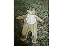 Baby reindeer outfit 3-6 months