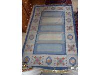 Large Traditional/Ethnic/Oriental Kilim-Rug/wool 300 x 200 cm