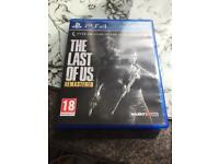 PS4 game The last of us