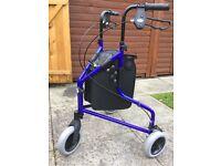 Tri Wheel Walker walking aid - BRAND NEW