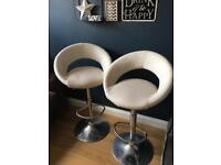 2 x John Lewis bar stools