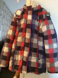 Age 10 12 unisex coat