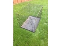 Large Dog Kennel! Previously used for Siberian Husky