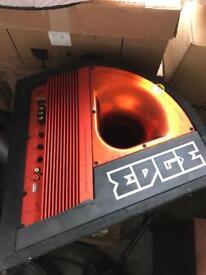 Edge Subwoofer amplifier Plus Extra Amps