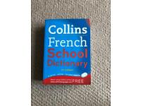 COLLINS SCHOOL DICTIONARIES French / Spanish (2 Items)
